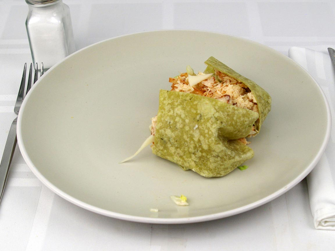 Calories in 0.5 wrap(s) of Subway - Chicken Caesar Wrap