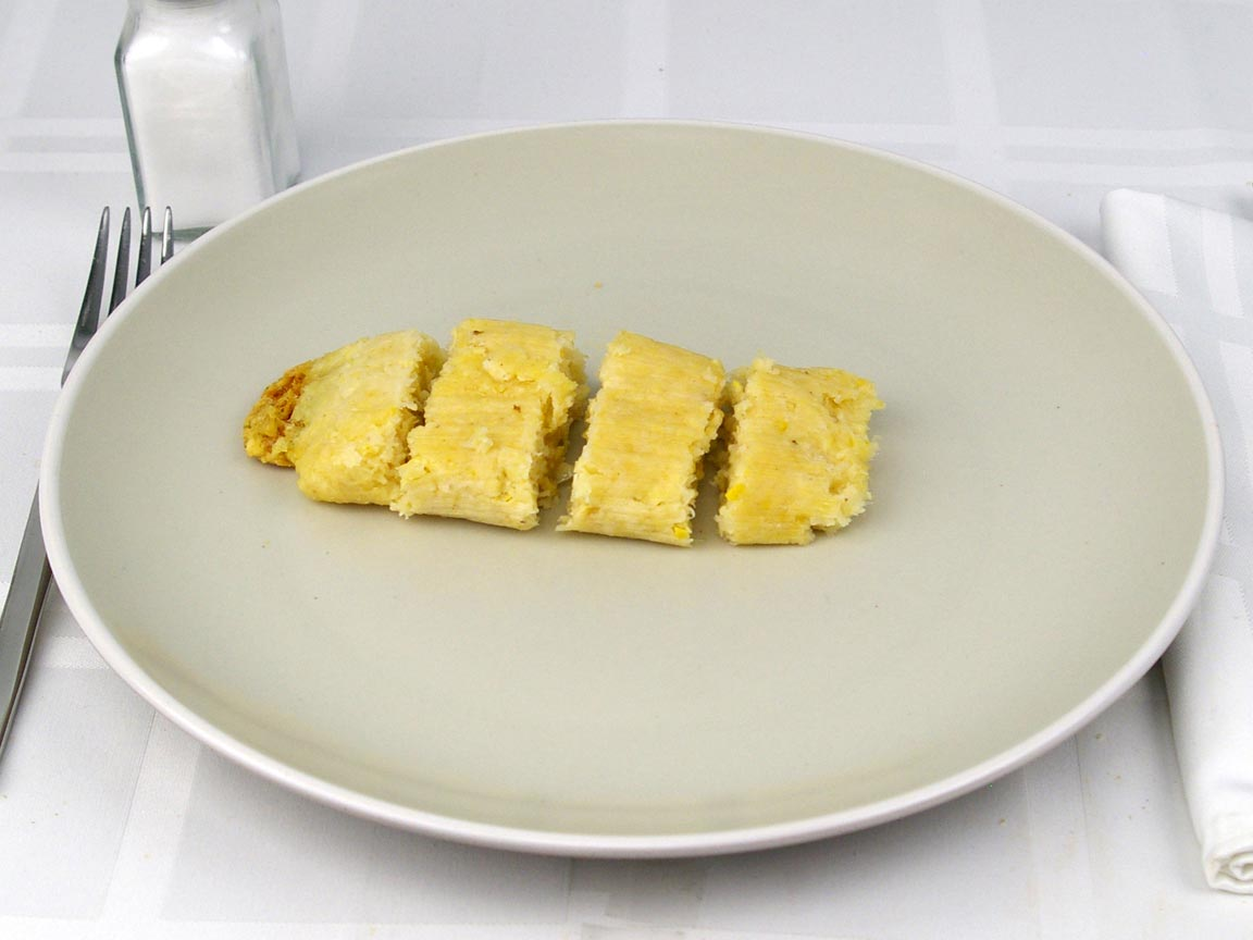 Calories in 1 tamale(s) of Sweet Corn Tamale