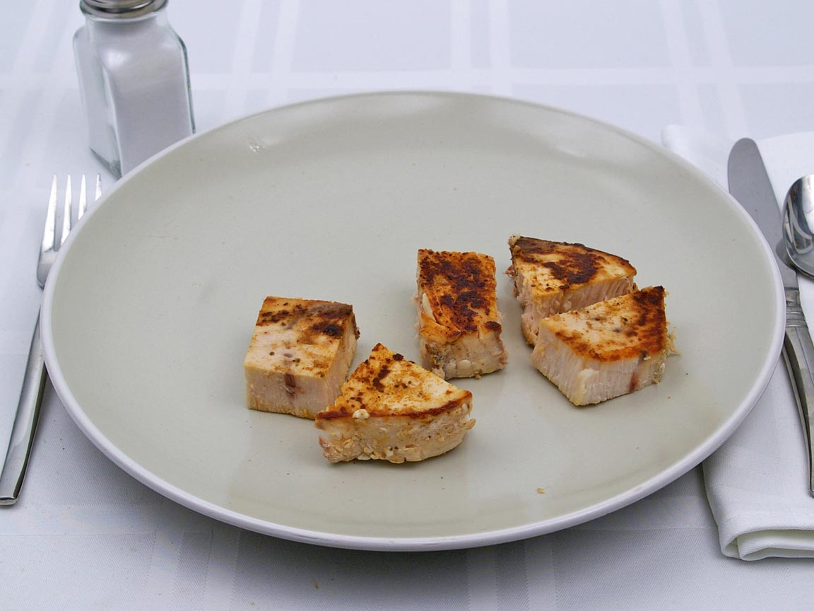 Calories in 141 grams of Swordfish