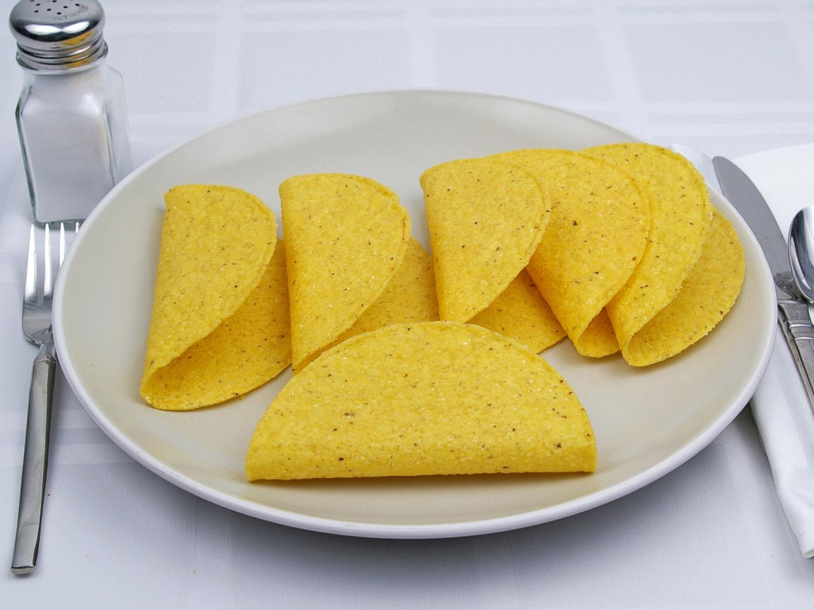 Calories in 6 shell(s) of Taco Shells