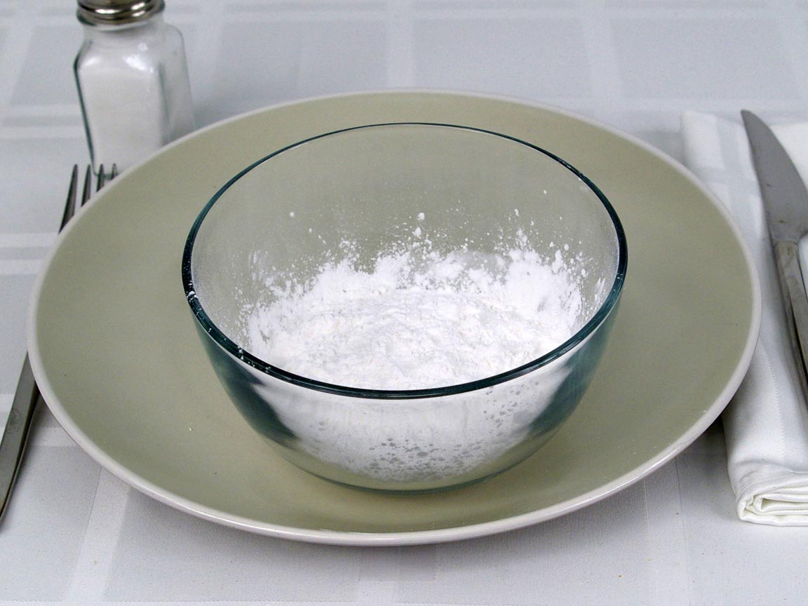 Calories in 0.5 cup(s) of Tapioca Flour
