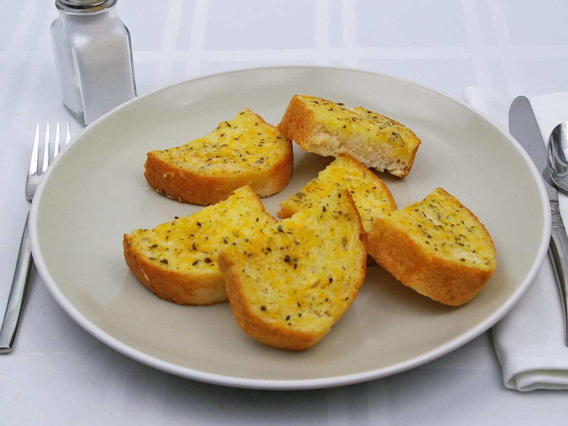 Calories in 3 slice(s) of Texas Toast - Five Cheese