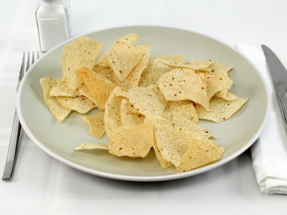 Calories in 42 grams of Cantina Thin Tortilla Chips