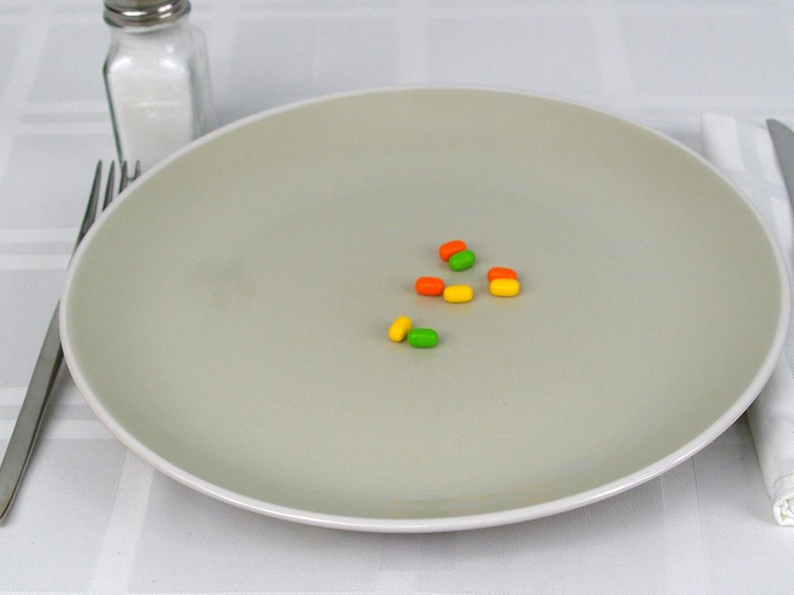 Calories in 8 ea(s) of Tic Tacs