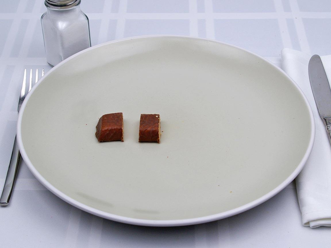 Calories in 0.5 bar(s) of Tigers Milk Bar - Protien Rich