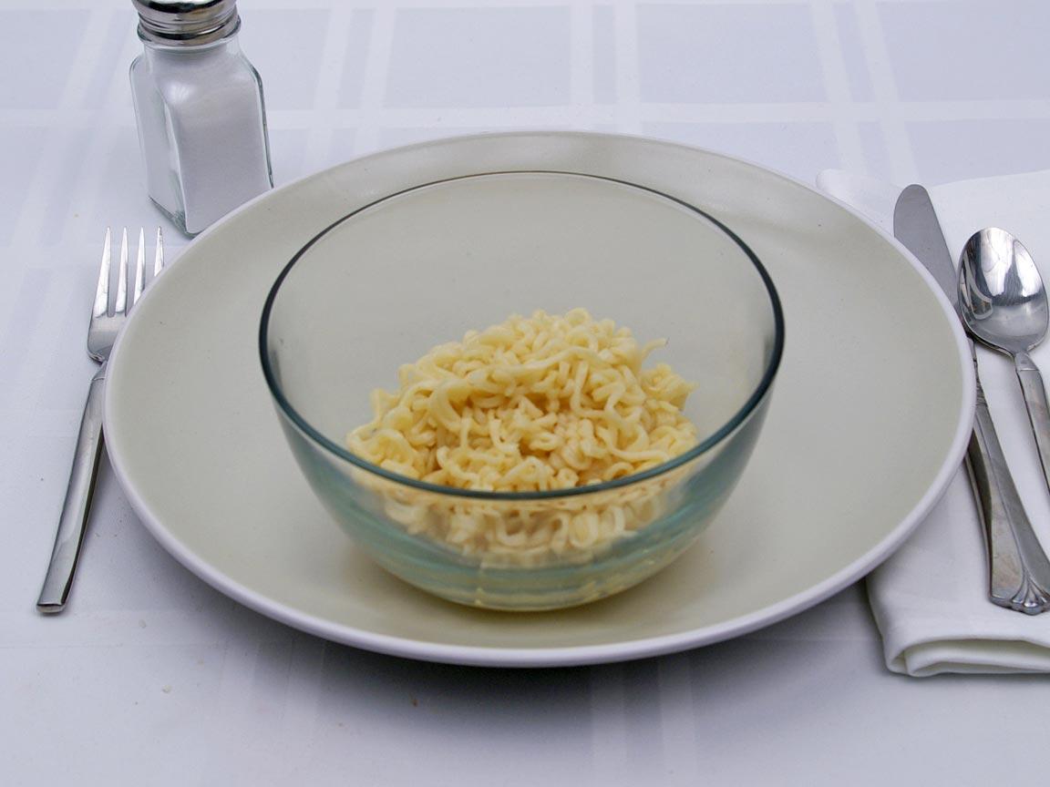 Calories in 1 cup(s) of Top Ramen Soup