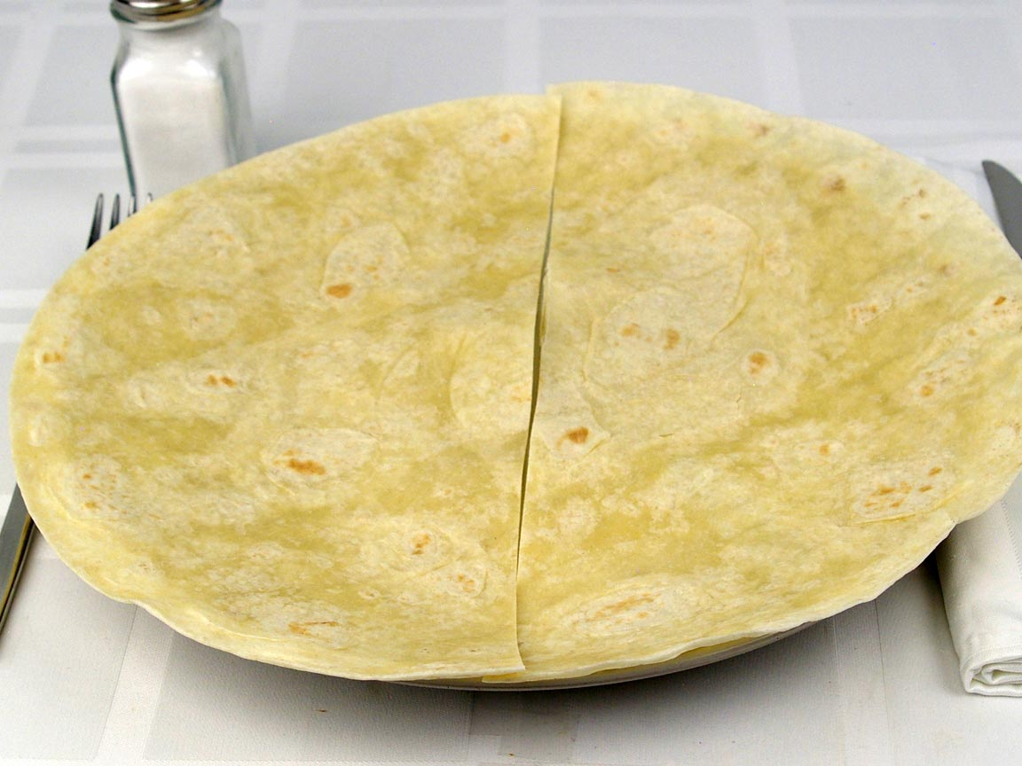 Calories in 1 tortilla(s) of Flour Tortilla Extra Large