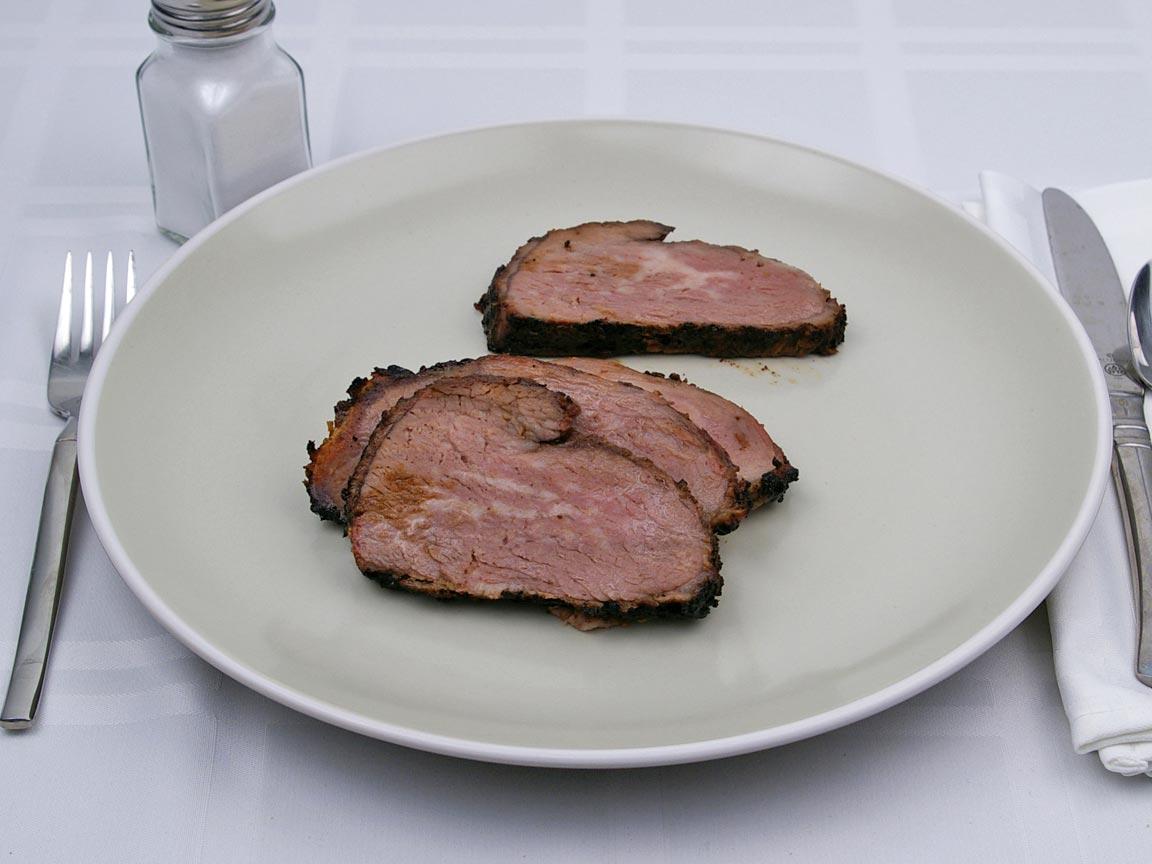 Calories in 198 grams of Tri Tip - Steak