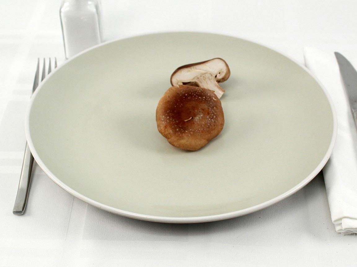 Calories in 30 grams of Trumpet Mushrooms