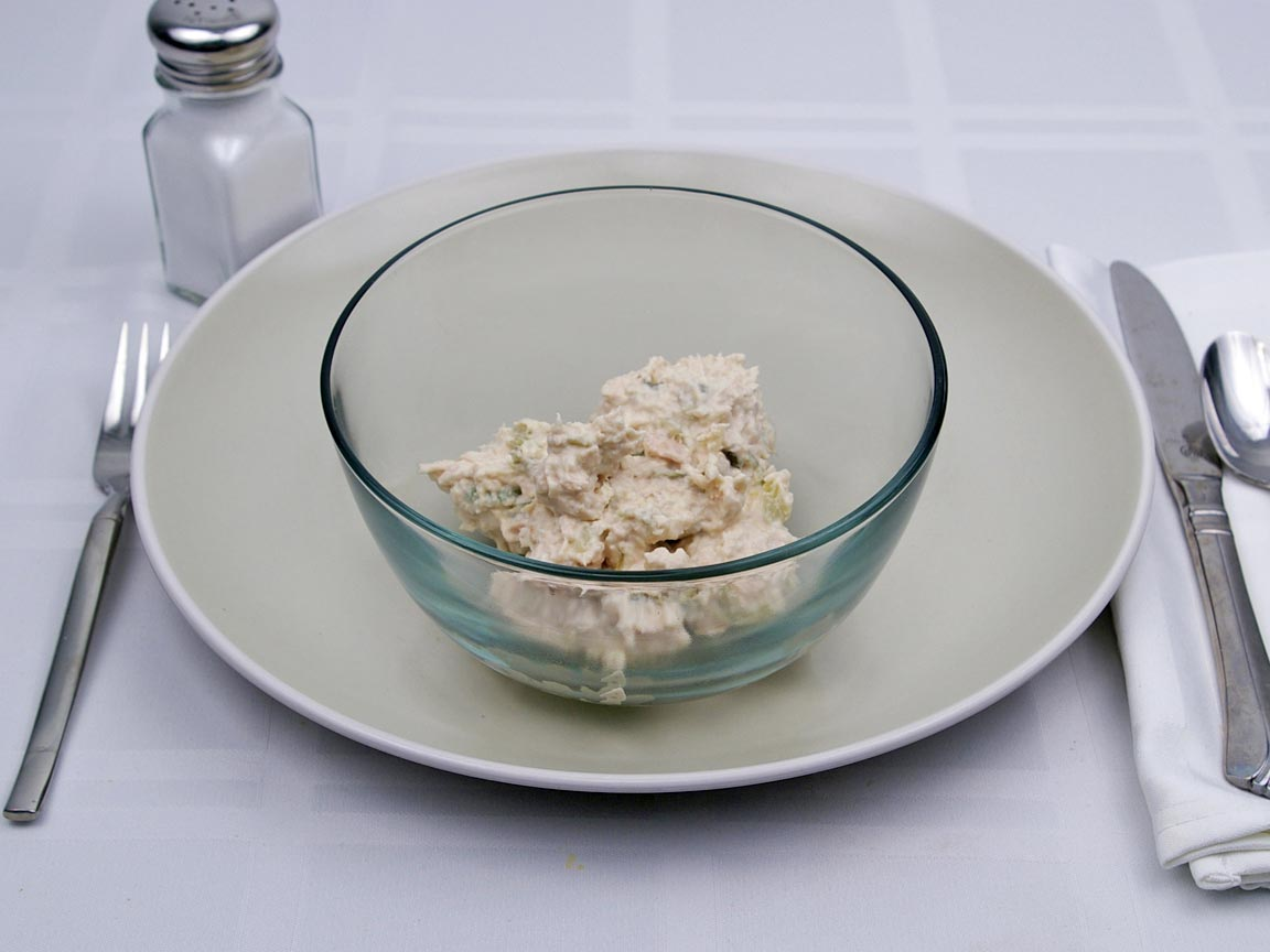 Calories in 0.58 cup(s) of Tuna Salad