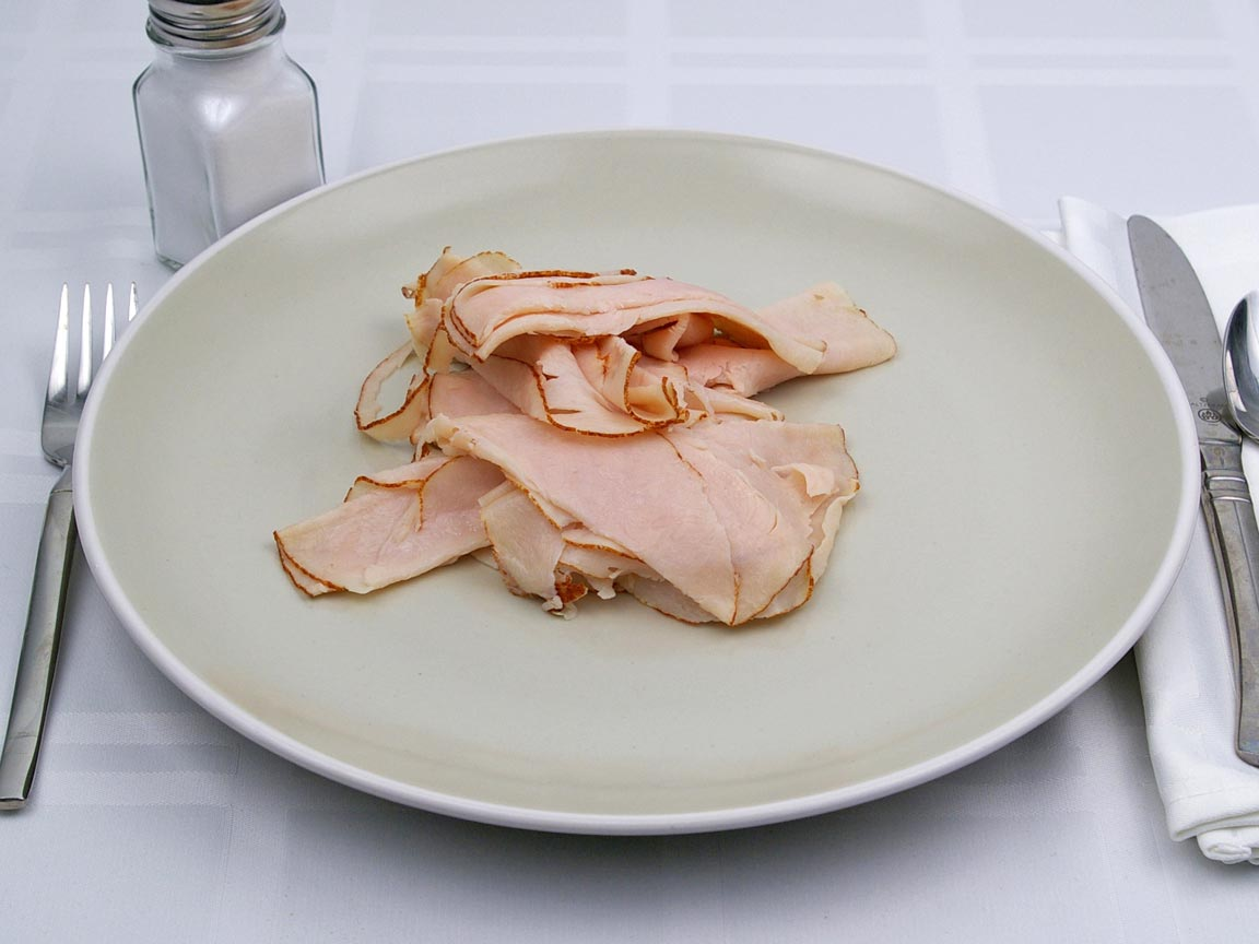 Calories in 141 grams of Deli - Chicken Breast