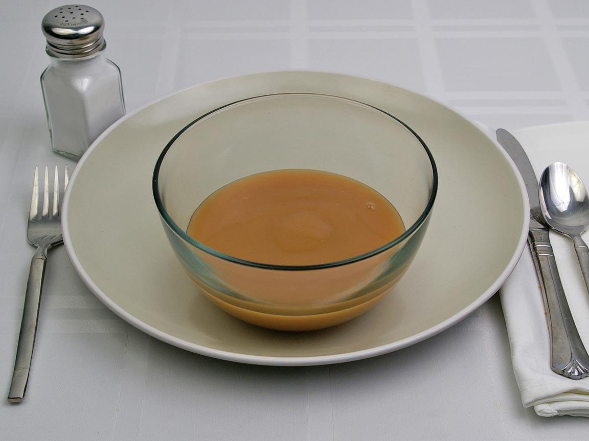 Calories in 1 cup(s)  of Turkey Gravy