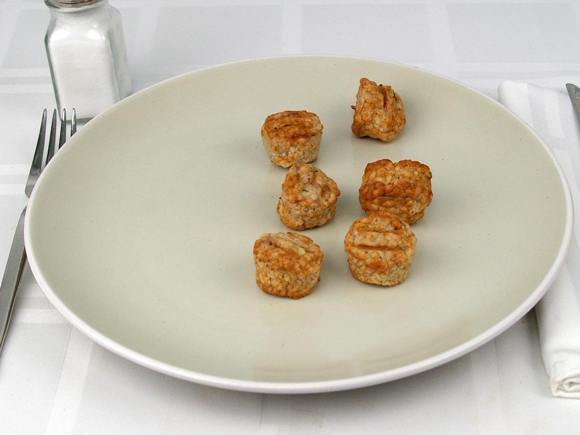 Calories in 6 piece(s) of Turkey Meatballs