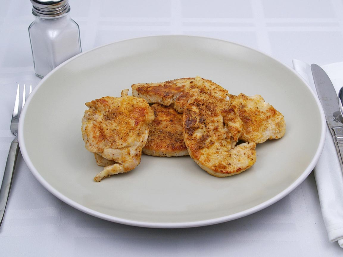 Calories in 4 medallion(s) of Turkey - Breast