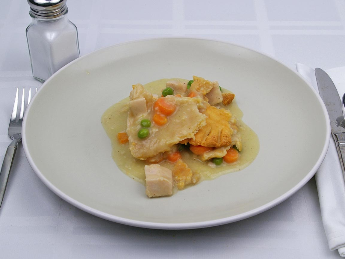 Calories in 108 grams of Chicken Pot Pie