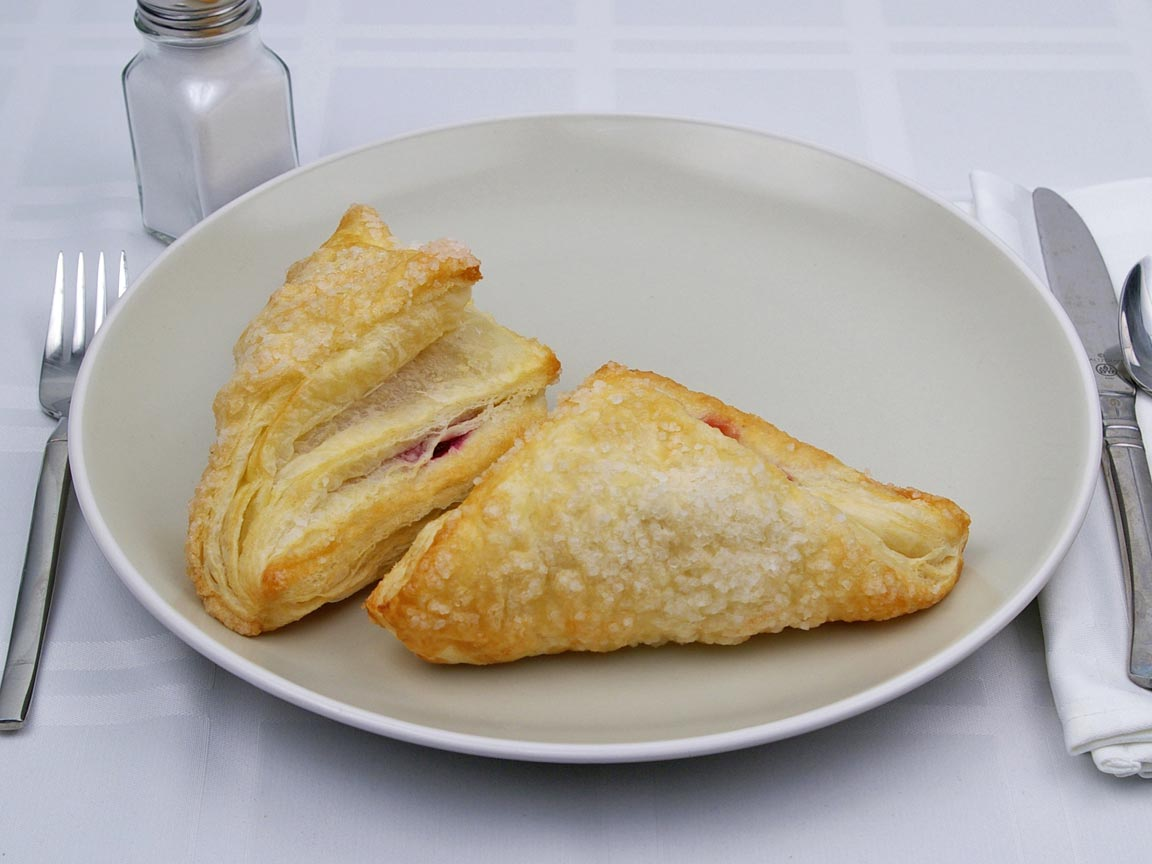 Calories in 2 turnover(s) of Turnover