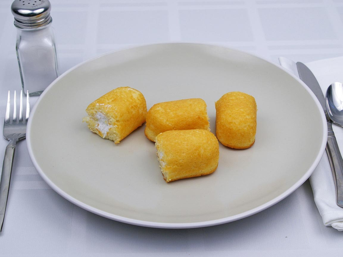 Calories in 2 twinkie(s) of Twinkie