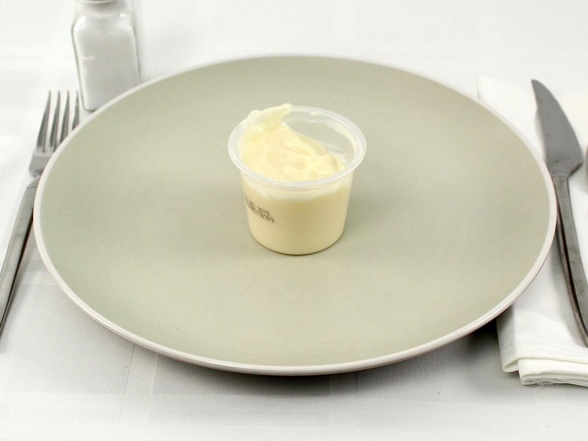 Calories in 1 snack(s) of Jello Vanilla Pudding Sugar Free