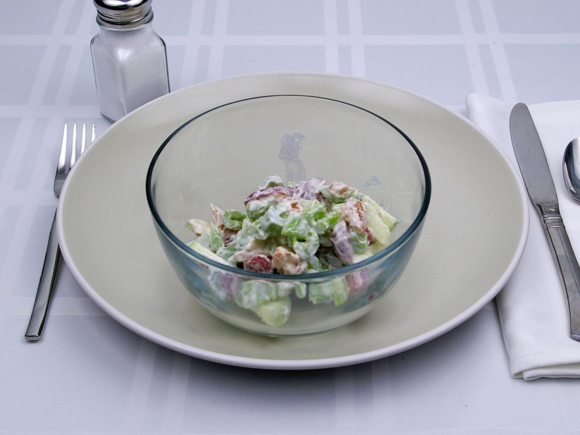 Calories in 1 cup(s) of Waldorf Salad - Classic - Avg