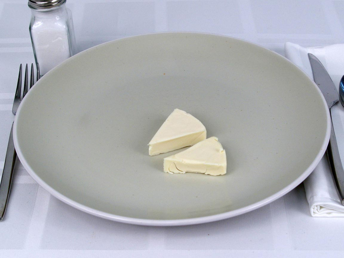 Calories in 2 ea(s) of Brie Spreadable Wedges