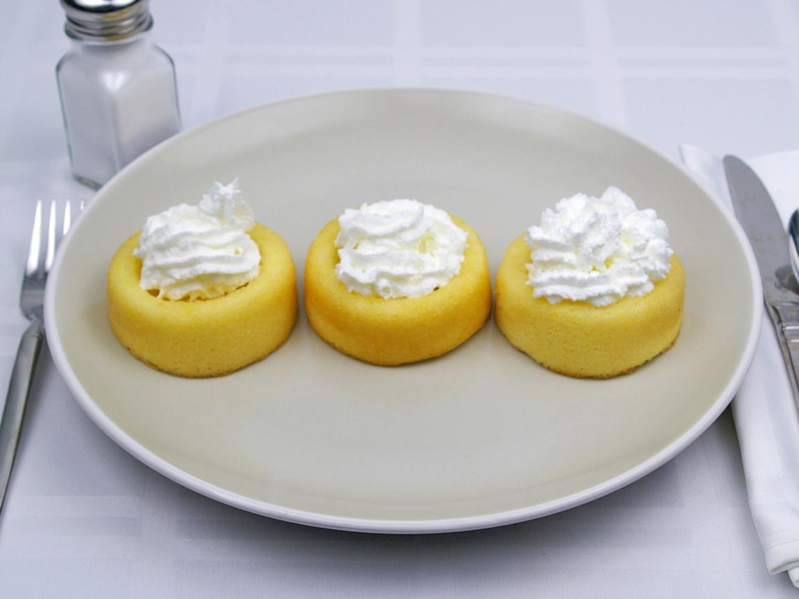 Calories in 6 tbsp(s) of Whipped Cream - Fat Free - Avg