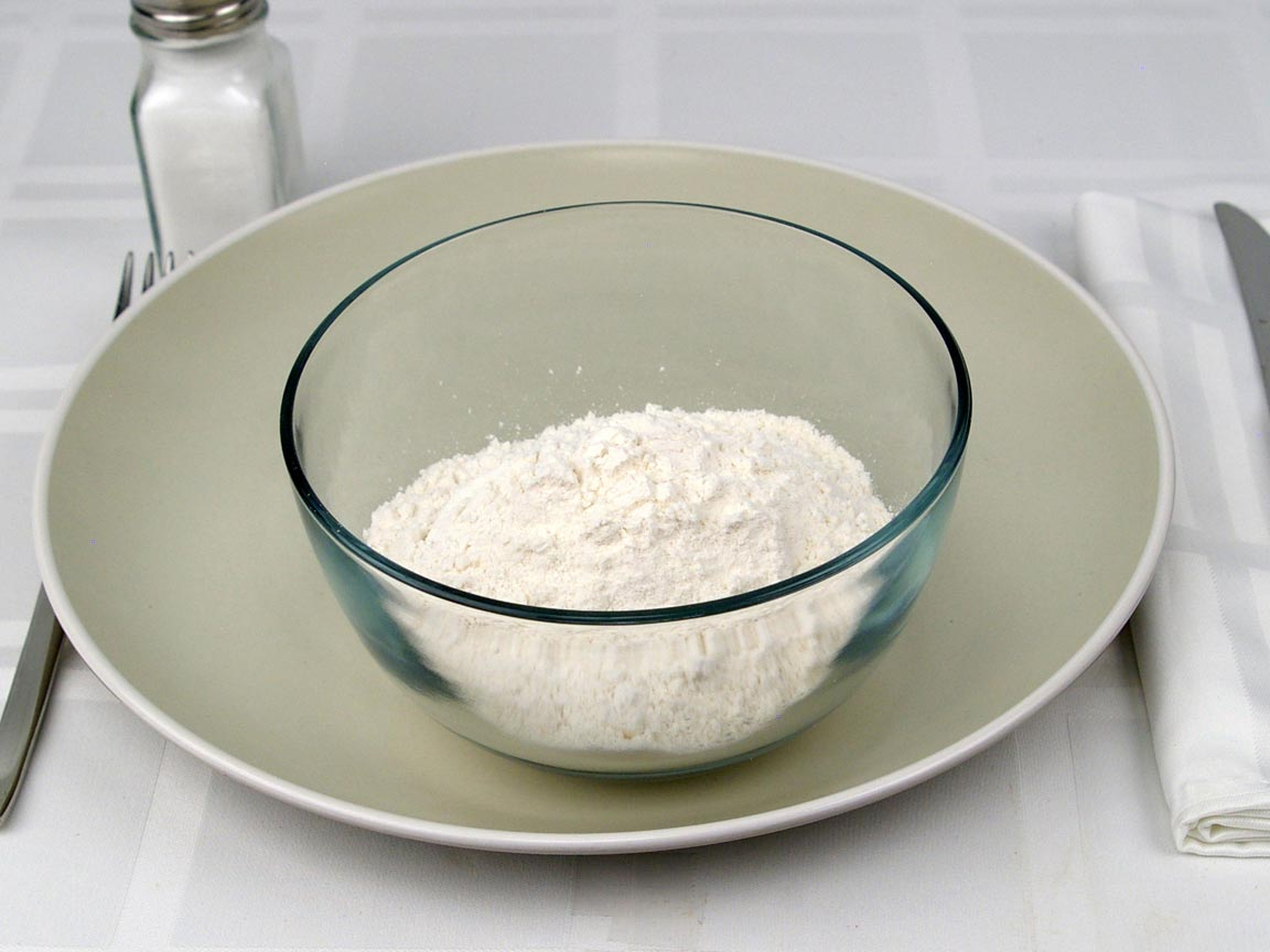 Calories In 1 Cup S Of White All Purpose Flour