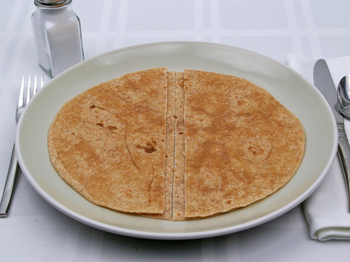Calories in 2 tortilla(s) of Tortillas - Whole Wheat