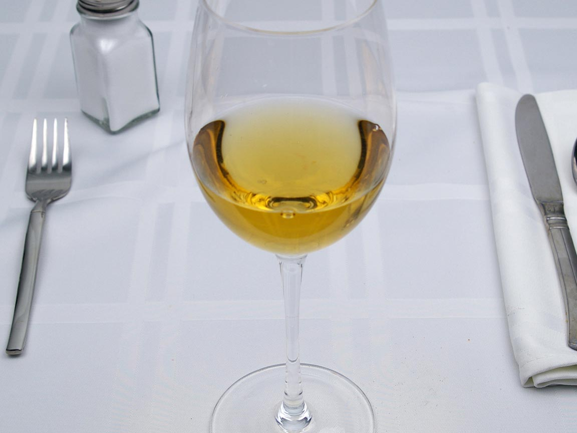 Calories in 4 fl oz(s) of Sherry - Dry