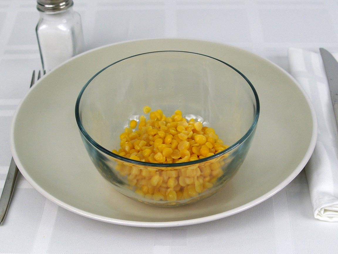 Calories in 0.75 cup(s) of Yellow Split Peas