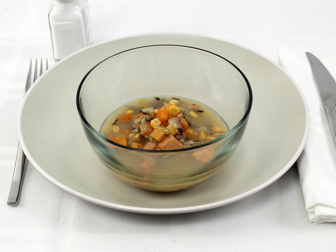 Calories in 1 cup(s) of Yes Chicken Wild Rice Soup